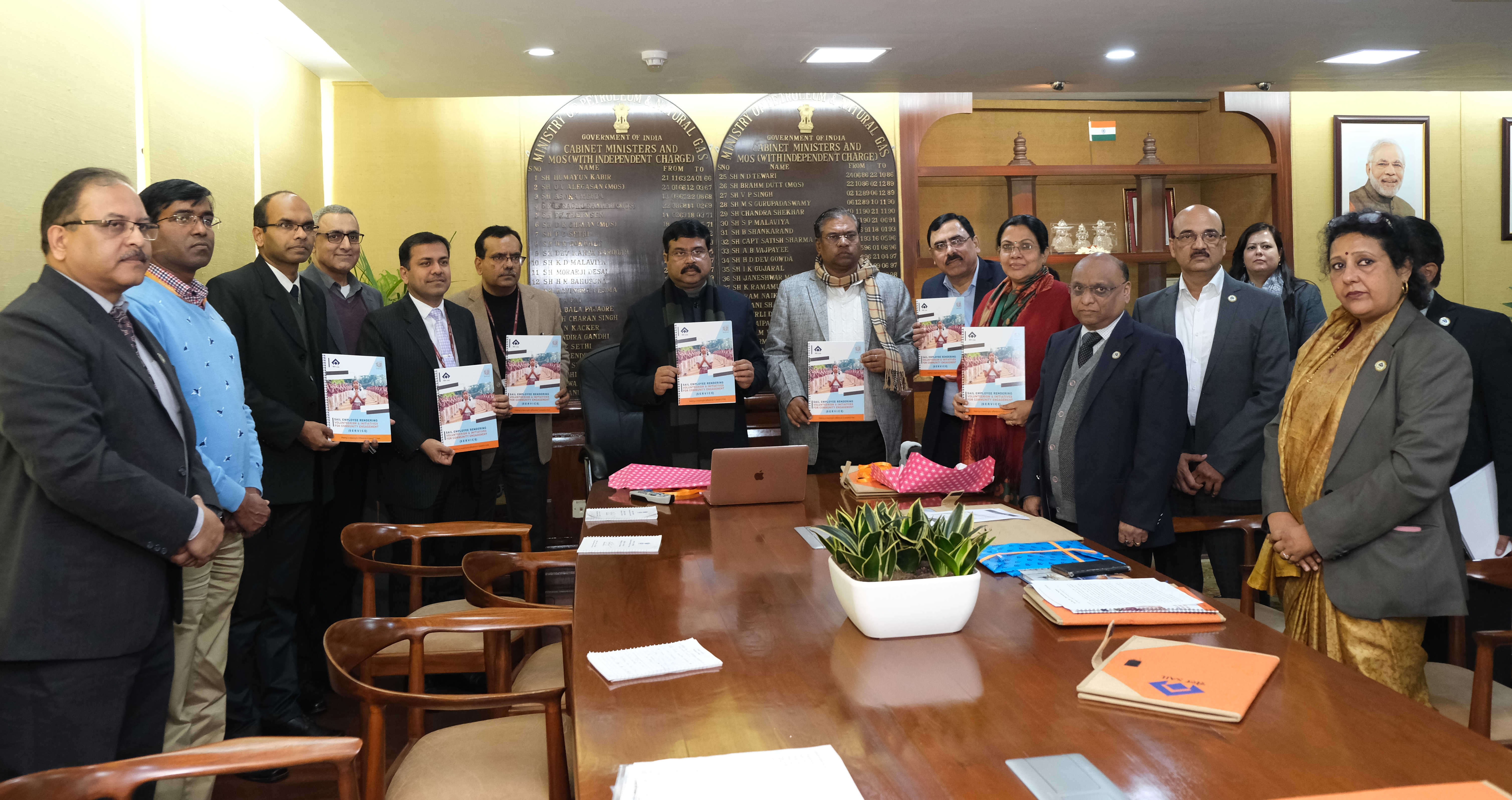 Dharmendra Pradhan launches SERVICE