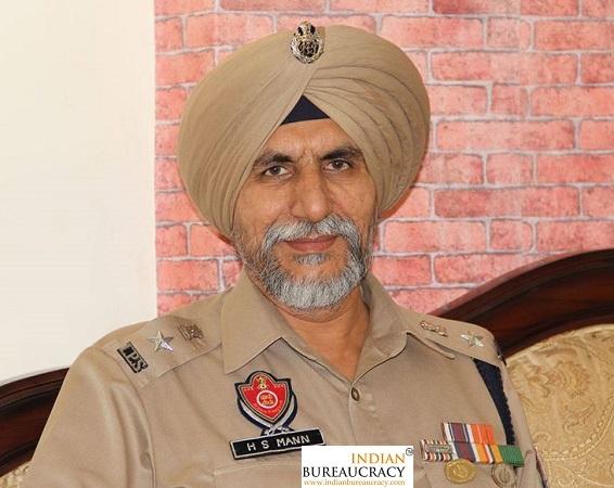 Hardial Singh Mann IPS Punjab