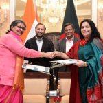 India and Bangladesh ink key agreements