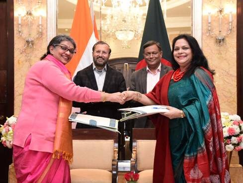 India and Bangladesh ink key agreements