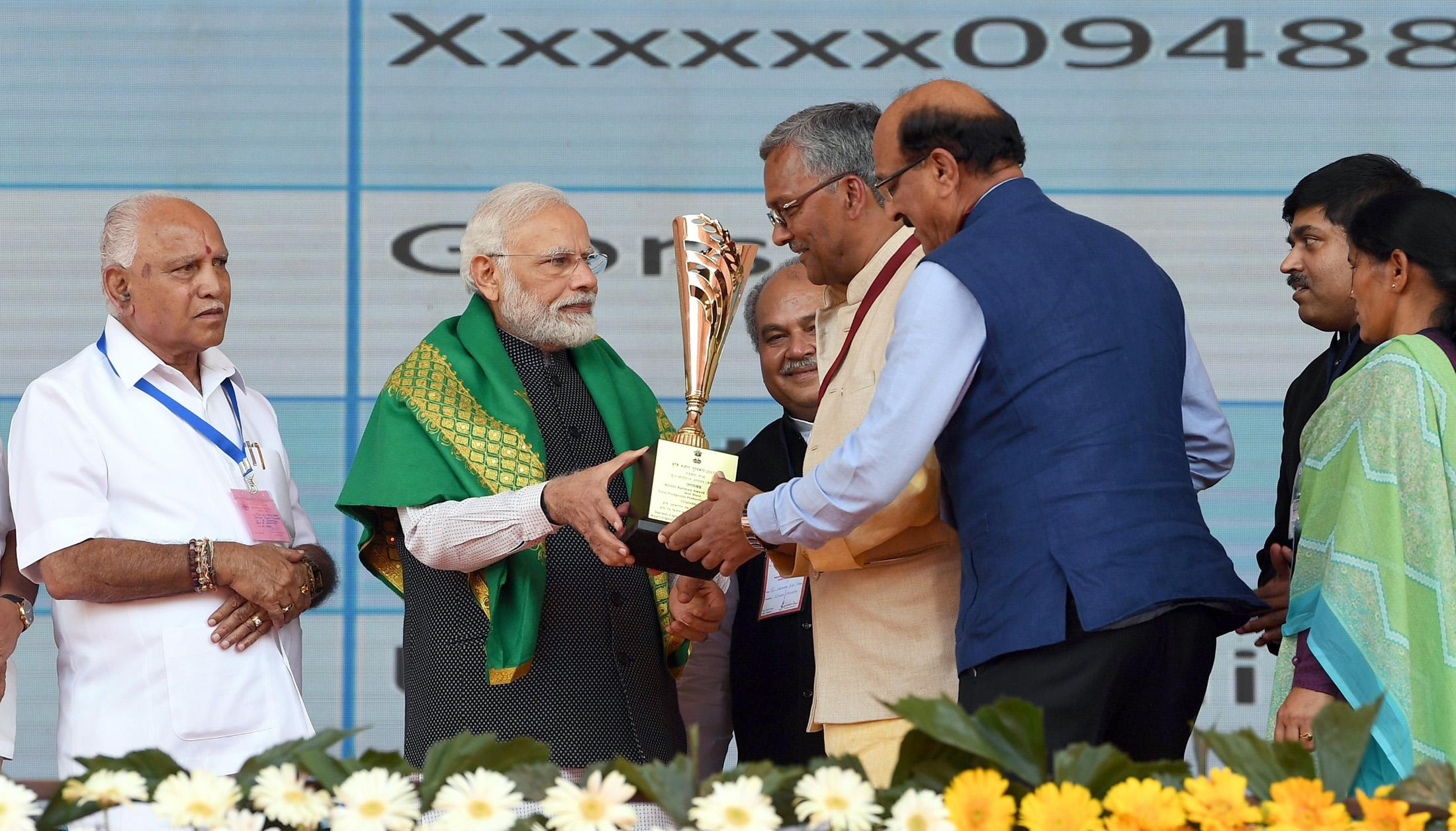 PM distributes Krishi Karman Awards