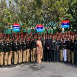 Raksha Rajya Mantri visits NCC Republic Day Camp 2020