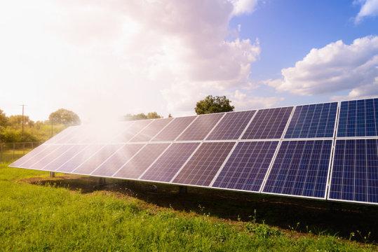Solar power from 'the dark side