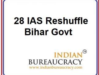 28 IAS Transfer in Bihar Govt