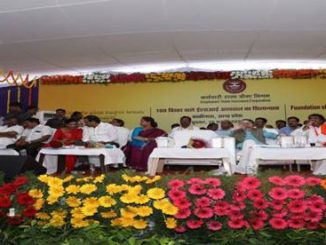 Gangwar lays Foundation Stone of 100 Bedded ESI Hospital