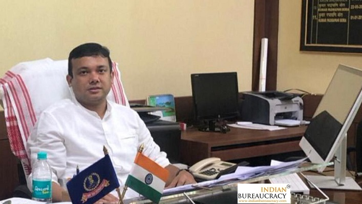 Kumar Padmapani Bora IRS