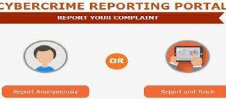 National Cybercrime Reporting portal