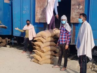 Amidst the COVID-19 lockdown FCI moves 721 rakes carrying about 20.19 Lakh MT food grains across the country in 14 days sinceAmidst the COVID-19 lockdown FCI moves 721 rakes carrying about 20.19 Lakh MT food grains across the country in 14 days since