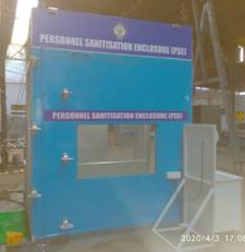 DRDO develops sanitisation enclosures
